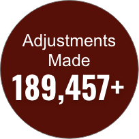 Dr. Thompson has made more than 189,000 chiropractic adjustments